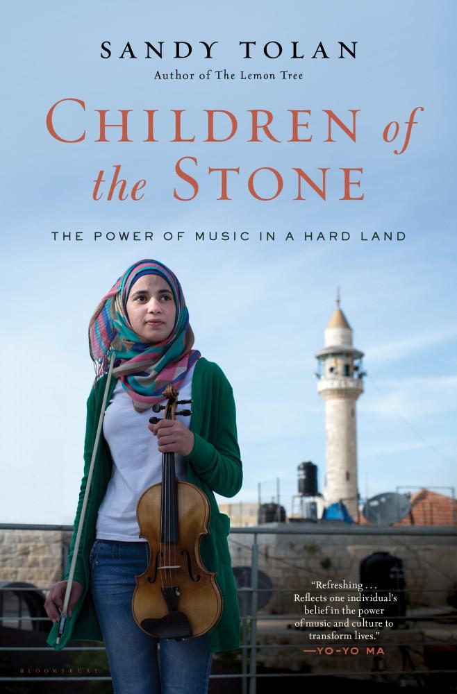 Libro sulla storia di Ramzi musicista palestinese